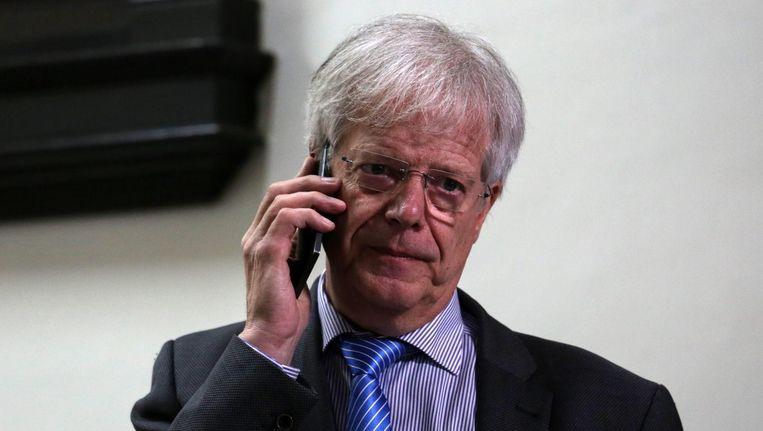 Hans Fischer, de nieuwe directeur van Tata Steel Beeld anp