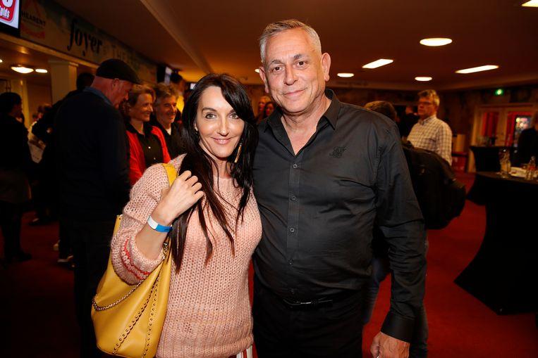 Peter Van Asbroeck met zijn vriendin Gwen.