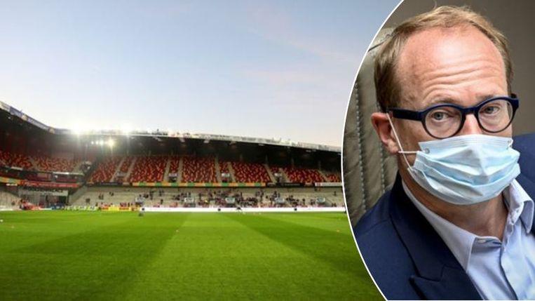 In het AFAS-stadion kan zondag KV Mechelen - Anderlecht plaatsvinden.