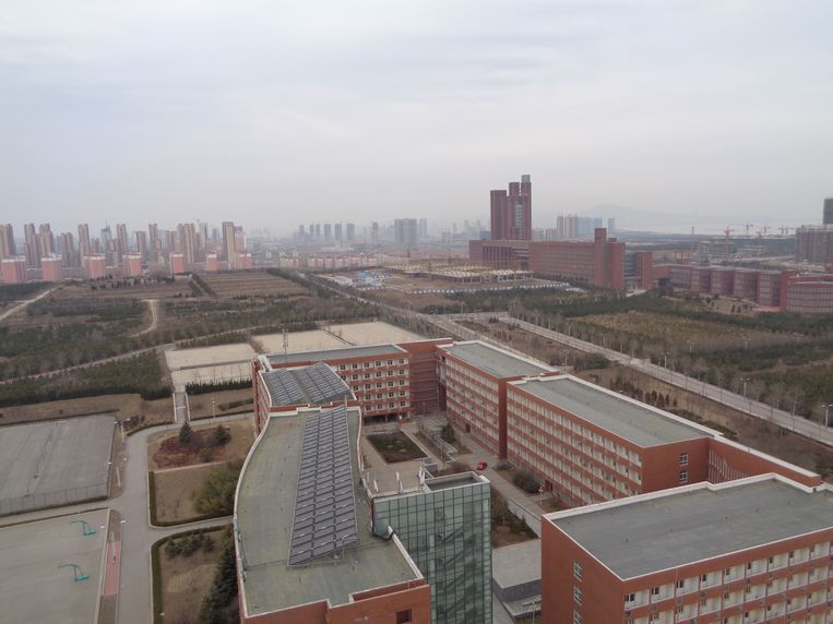 De Rijksuniversiteit Groningen wil een campus openen in de Chinese plaats Yantai. Beeld RV