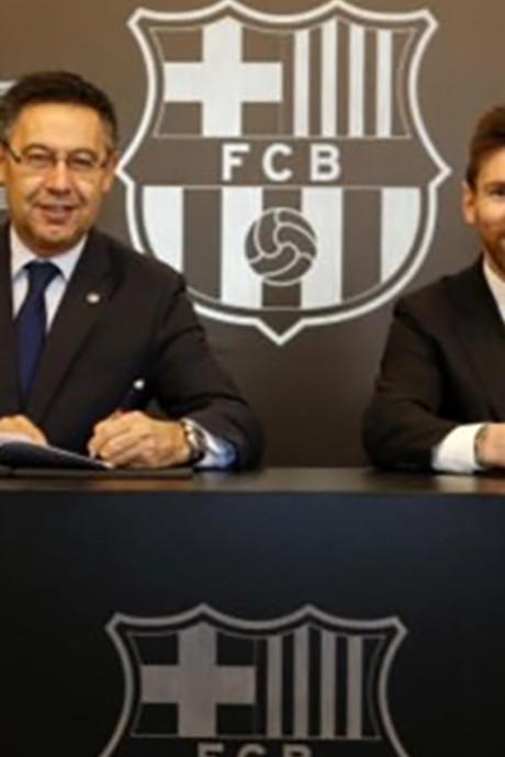 Lionel Messi na vandaag voor 700 miljoen af te halen