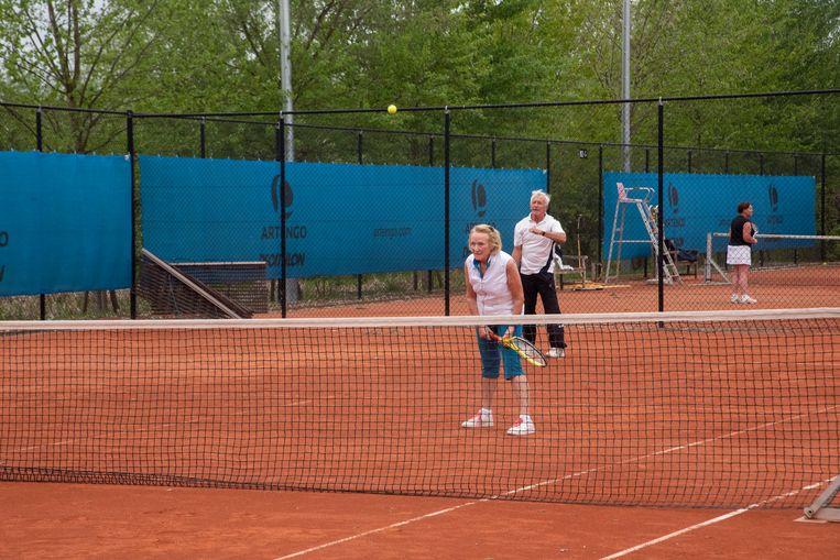Tennisclub Destelbergen wil extra terreinen aanleggen naast de huidige in Bergenmeers.