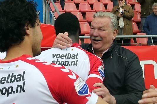 Frans van Seumeren bij zijn FC Utrecht.
