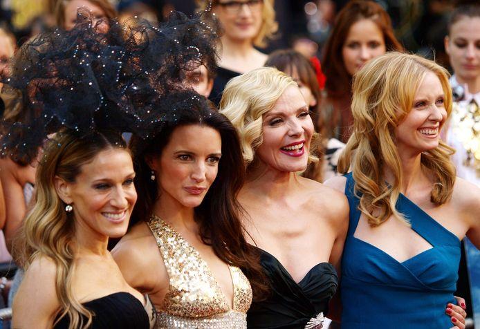 Sarah Jessica-Parker, Kristin Davis, Kim Cattrall en Cynthia Nixon.