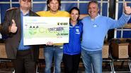 Joggingclub steunt Stichting Alzheimer Onderzoek