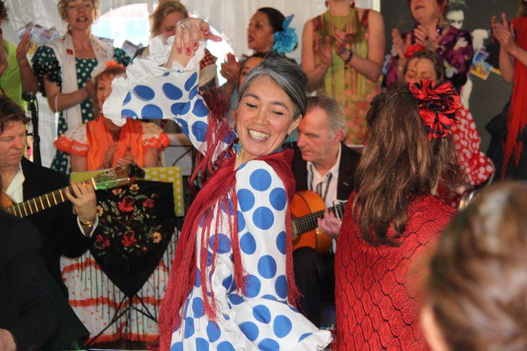Spaans temperament op Feria de Amsterdam Beeld Chris Vinken