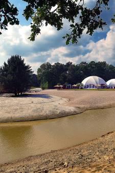 'Streep door vergunning voor tenten op eiland bij De Berk'