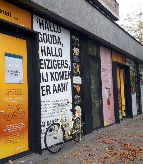Nieuwe horeca bij station in Gouda: groene flexwerkplek én fietsenverhuur
