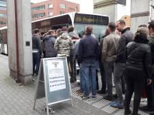 Pendelbussen Paaspop rijden andere route na nieuwe problemen met vastgelopen bus
