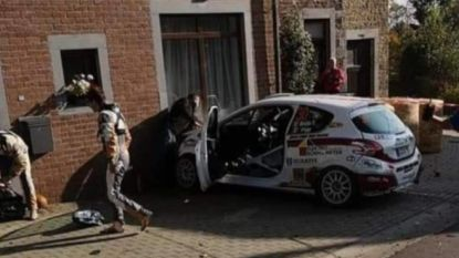 Na dodelijk ongeval gaat Condroz Rally door: Lefebvre wint, opmerkelijke crash in huis burgemeester