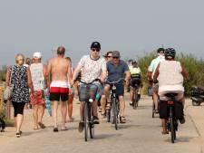 Alle verkeer krioelt door elkaar in West-Zeeuws-Vlaamse duinen, 'wielrenners wachten niet graag'