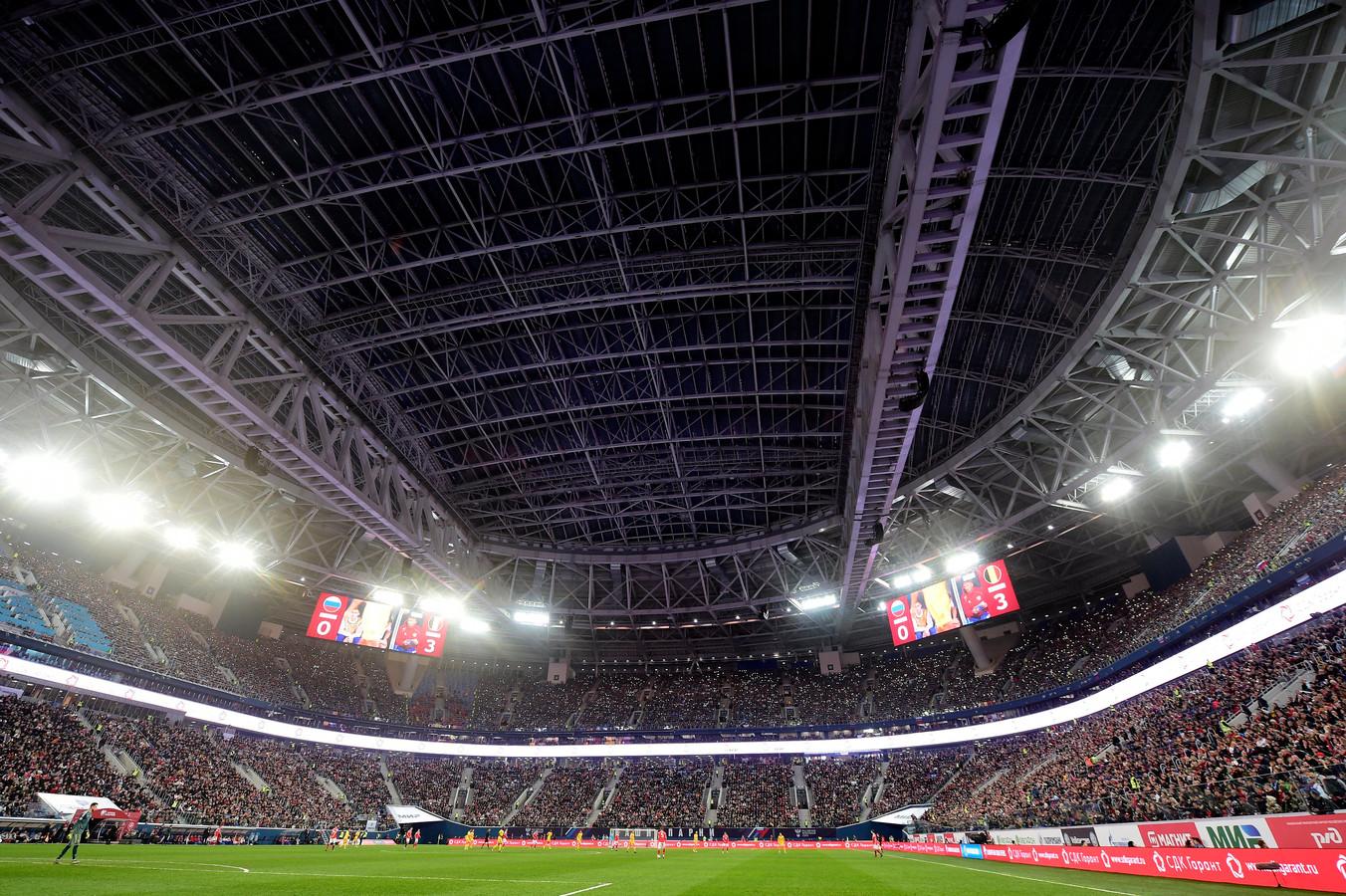 St-Petersbourg stadium.
