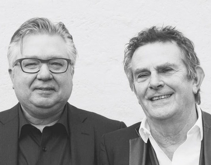 Pieter Tops (l) en Jan Tromp