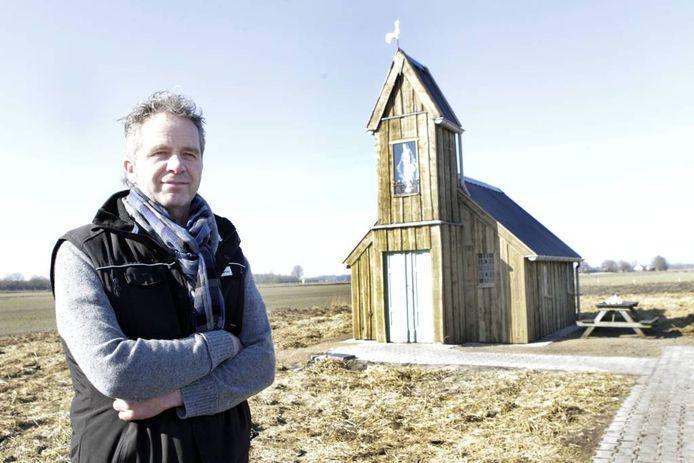 Het nieuwe kerkje in Kallenkote. Foto: Sacha Wunderink