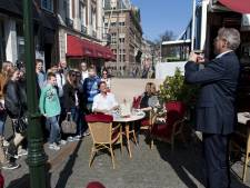 Premier Rutte gaf vanochtend nog gewoon les