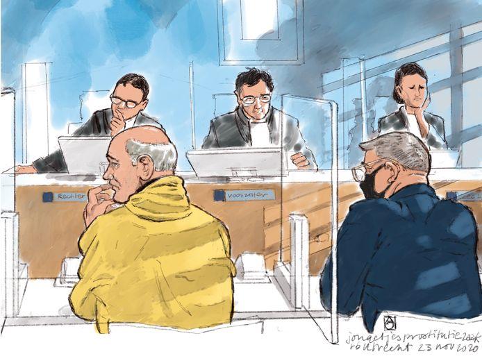 Nico L. en Romeo  A. kregen vandaag te horen welke straf het OM voor hen wenst. De rechtbank doet op 14 januari uitspraak.
