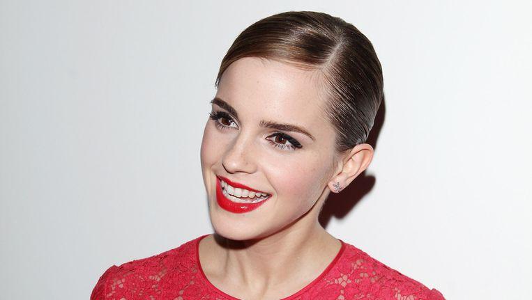 Actrice Emma Watson. Beeld getty