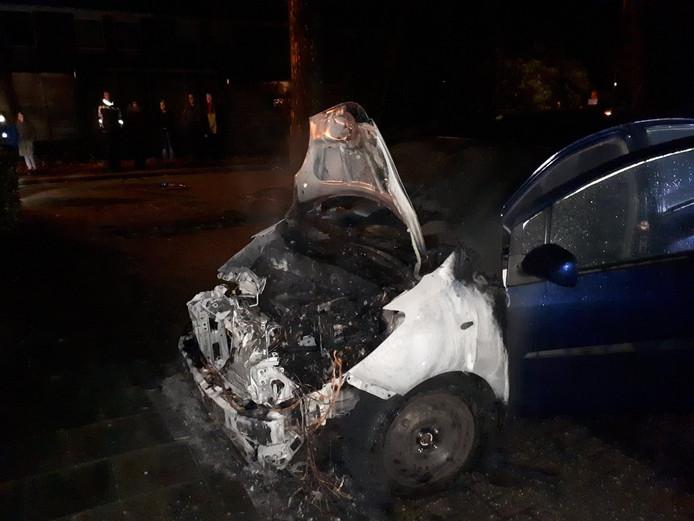 De afgelopen dagen brandden er meerdere auto's uit in Nieuwegein.