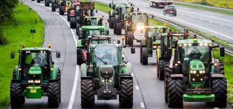 Ondanks uittocht van boeren is het rustig op de Brabantse snelwegen