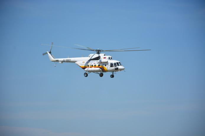 Een helikopter, foto ter illustratie