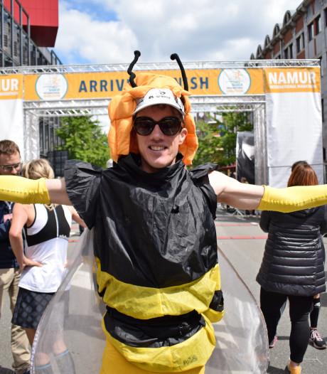 Un Namurois recordman du monde du marathon... déguisé en insecte