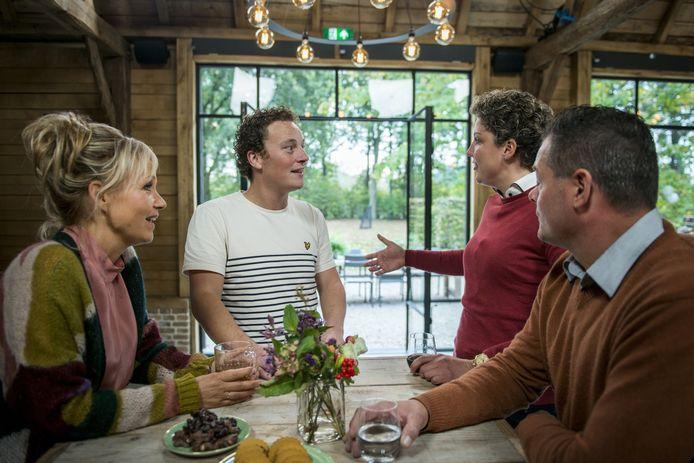 2018 Boer Zoekt Vrouw:  Yvon Jaspers, Marnix , Steffi en Wim.