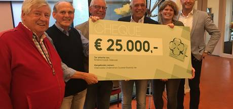 Klavertje Vier schenkt kinderarmoede in Oldenzaal 25.000 euro