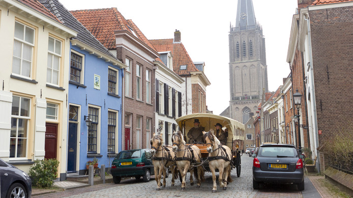 De pittoreske binnenstad van Doesburg.
