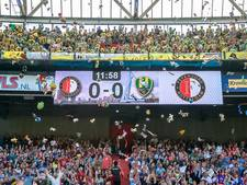 Alle knuffels mogen mee naar binnen bij Feyenoord-Excelsior