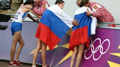 IAAF handhaaft schorsing van Russische atleten