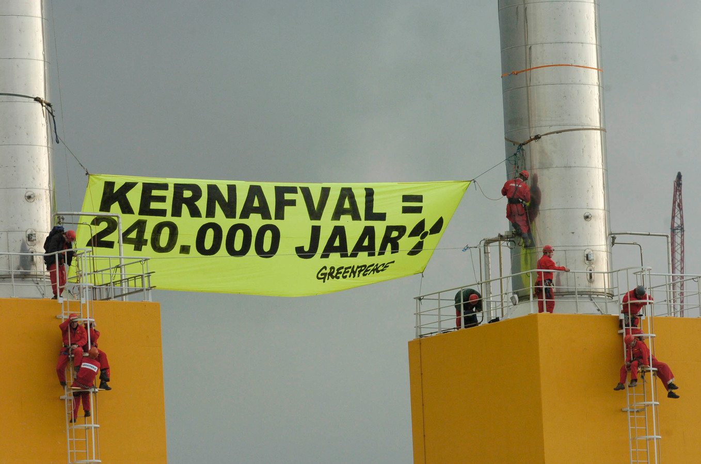 Greenpeace-actie in 2004
