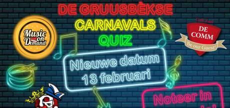 Eerste Gruusbèkse carnavalsquiz afgeblazen om avondklok