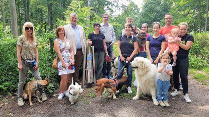 Hondenbaasjes kunnen zakjes voortaan in Kluisbos deponeren in hondenpoepzuilen