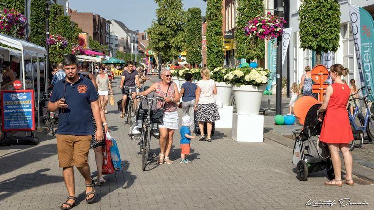 Archiefbeeld van de Nieuwstraat.