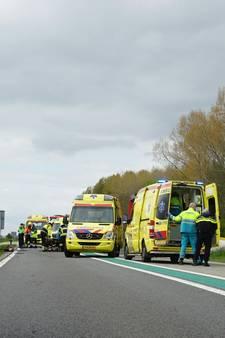 Dode bij ongeval op N322 bij Horssen