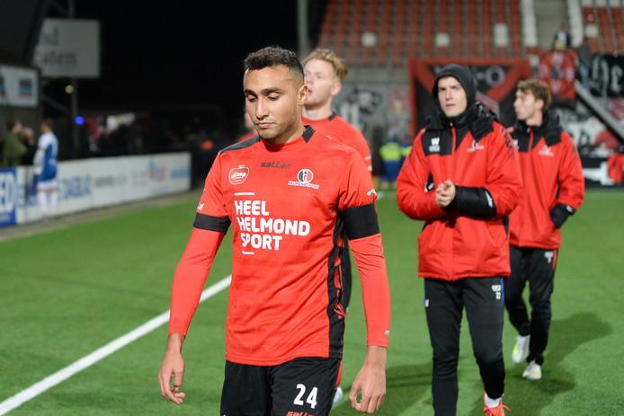 Daan Ibrahim kwam dit seizoen tot 8 invalbeurten voor Helmond Sport.
