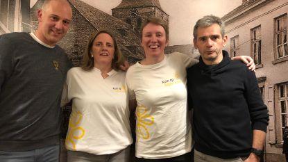 Opwijks team doet mee aan 100 km-run van Kom Op Tegen Kanker
