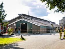 200 koeien op tijd uit stal gehaald bij brand door kortsluiting
