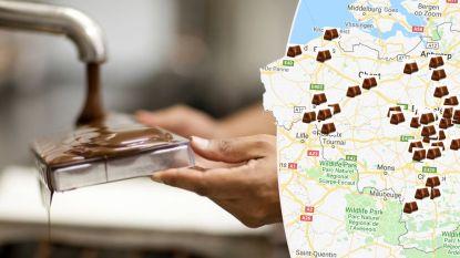 IN KAART. De beste chocolatiers van België volgens Gault&Millau