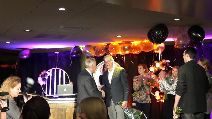 Ruud Beukers wint de TopASz Award.