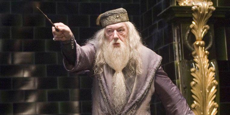 Dumbledore ofte Perkamentus zoals we hem kennen uit de 'Harry Potter'-films