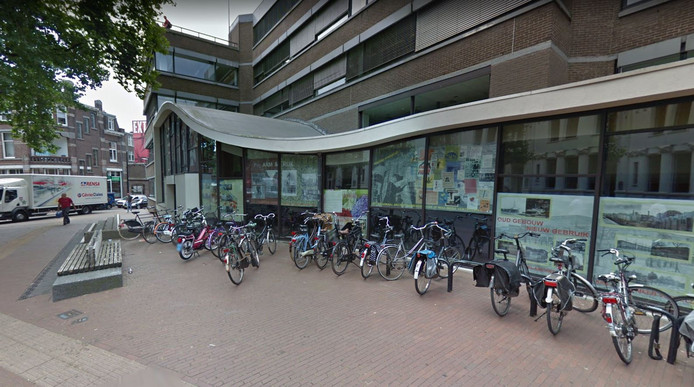 Het pand van de voormalige Stadswinkel in Nijmegen.