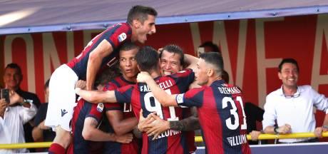 Roma met Kluivert onderuit bij Bologna