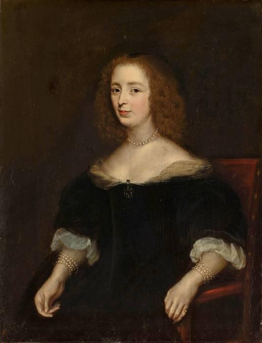Anna van de Corput (1599-1645), de moeder van Johan en Cornelis de Witt. Haar graf in de Dordtse Grote Kerk wordt geopend voor een dna-onderzoek.