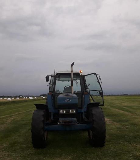 Tractor gestolen in Hattemerbroek, 1.000 euro voor de 'eerlijke vinder'