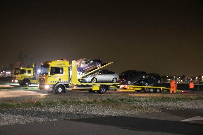 De controle werd gehouden op de N302 bij Harderwijk.