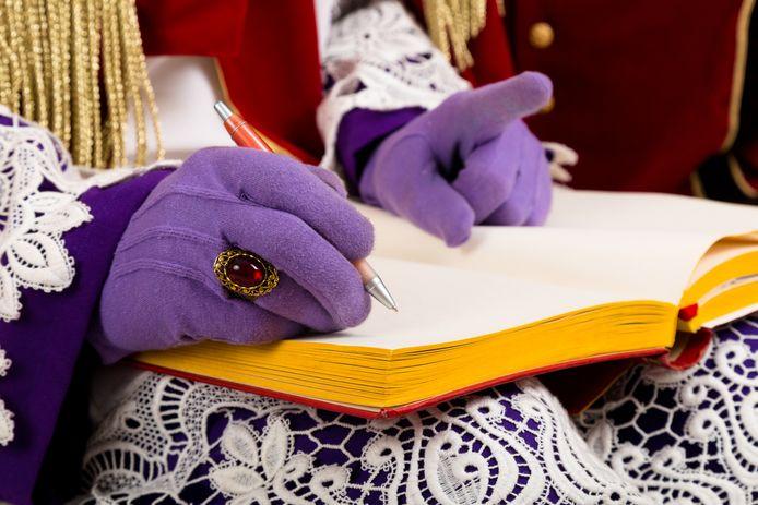 Sinterklaasboek, foto ter illustratie