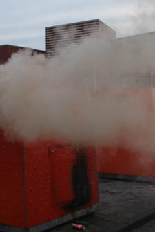 Opnieuw containerbrand bij winkelcentrum Tiel