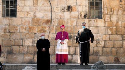 Kruisweg zonder pelgrims in Jeruzalem