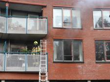 Brand in woning zorgcentrum in Barneveld: meerdere woningen ontruimd